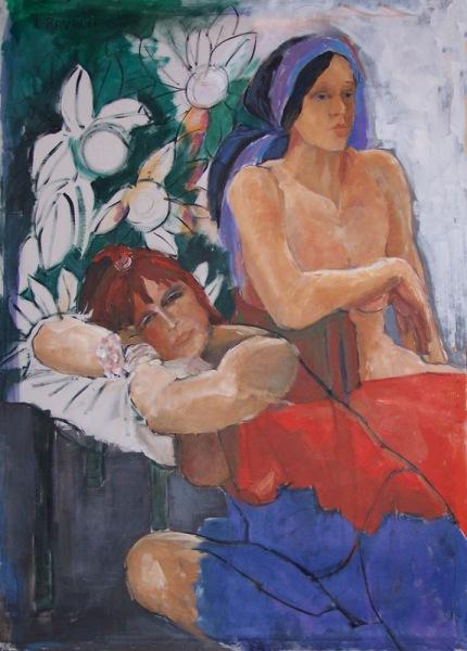 Attesa con fiori bianchi (2006)
