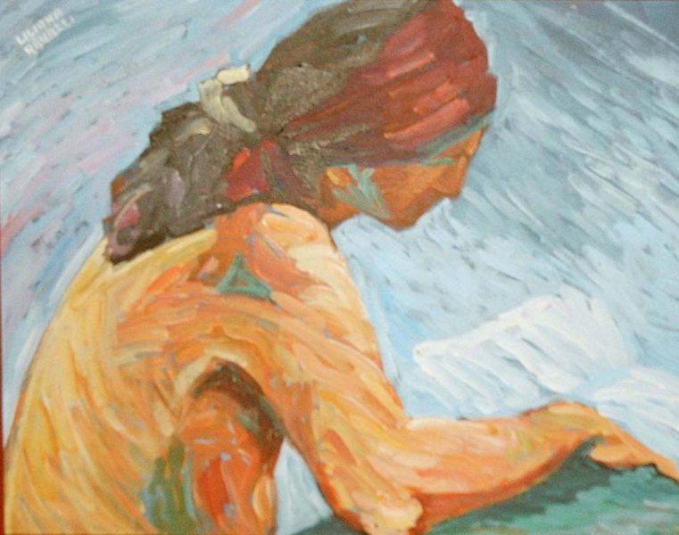 Lettura al sole (2004)